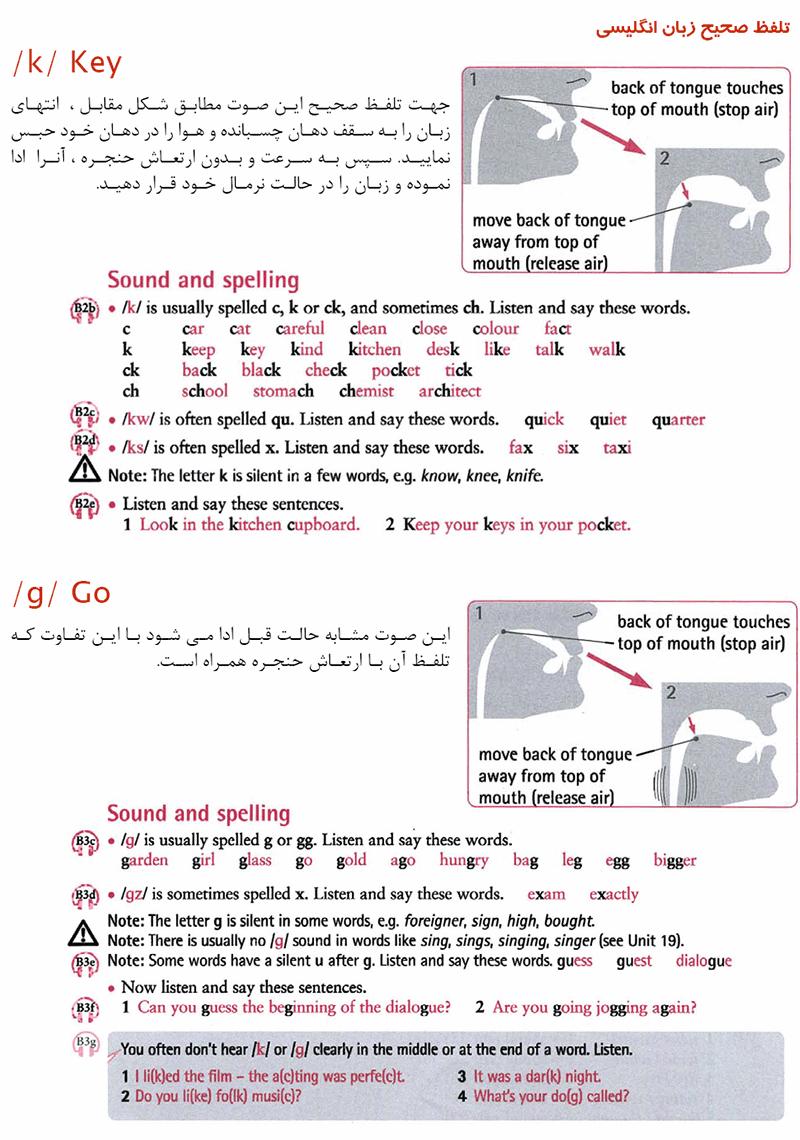 تلفظ صحیح زبان انگلیسی